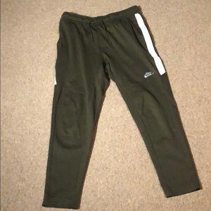 Green Nike Sweatpants